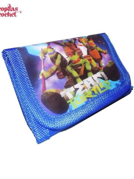 Portofel Testoasele Ninja (albastru) 1