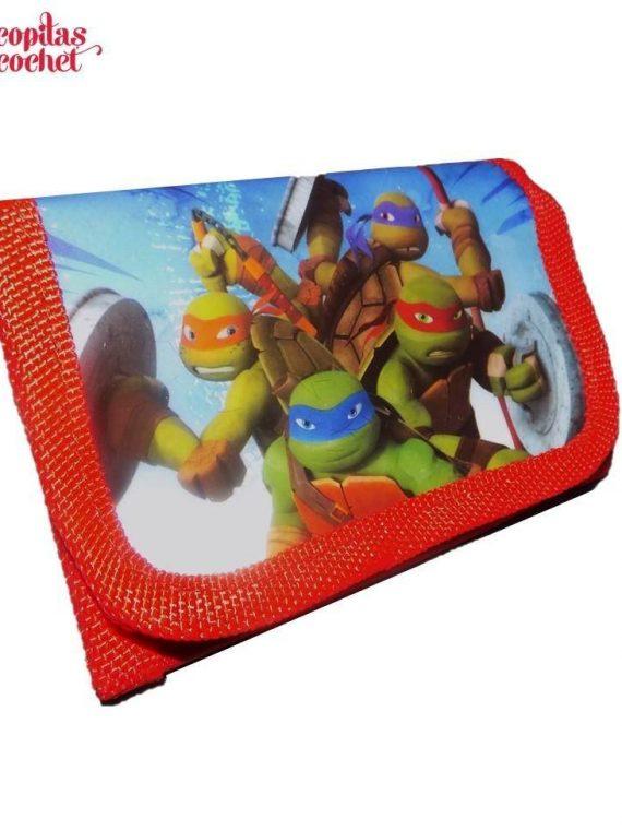 Portofel Testoasele Ninja (rosu) 1