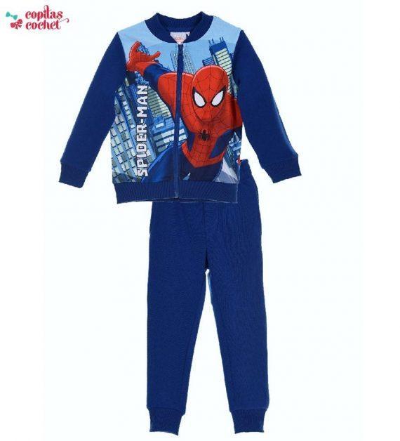 Trening Spiderman (albastru) 1