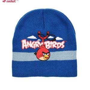 Caciula Angry Birds (albastru) 1