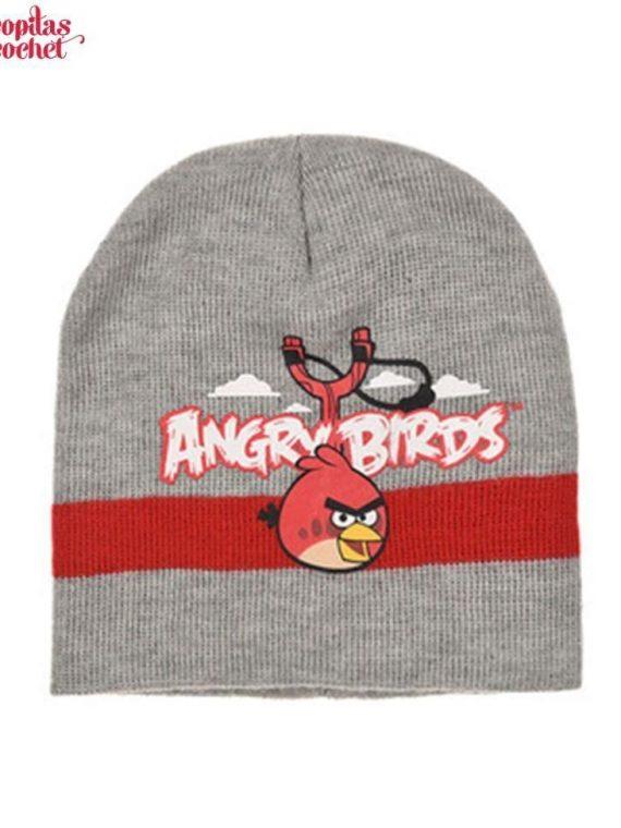 Caciula Angry Birds (gri) 1