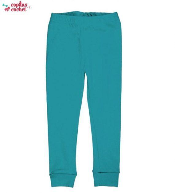 Pantaloni pijama (albastru deschis) 1