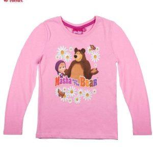 Bluza Masha si Ursul (roz) 1