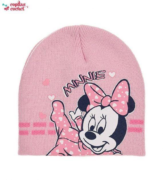 Caciula bebe Minnie Mouse (roz) 1