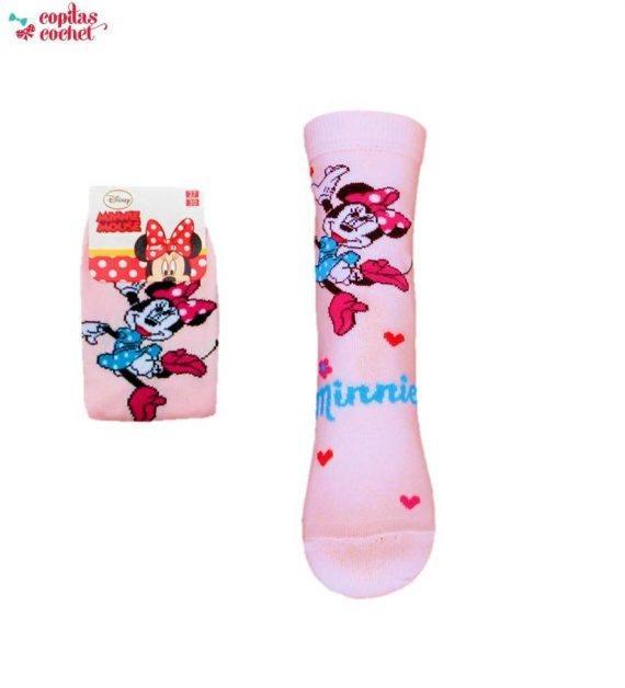 Sosete Minnie Mouse (roz) 1