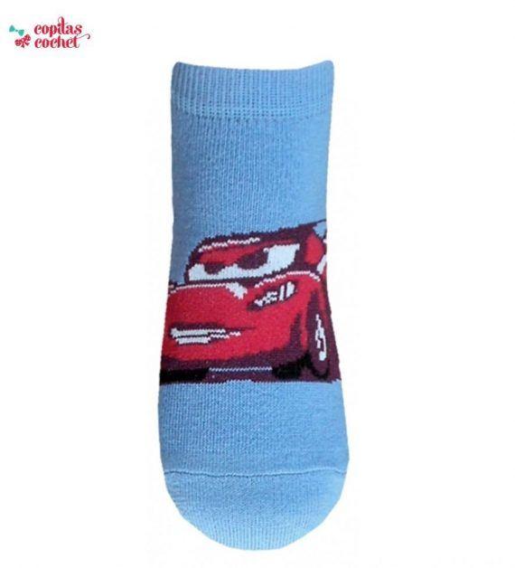 Sosete scurte Fulger McQueen (albastru) 1