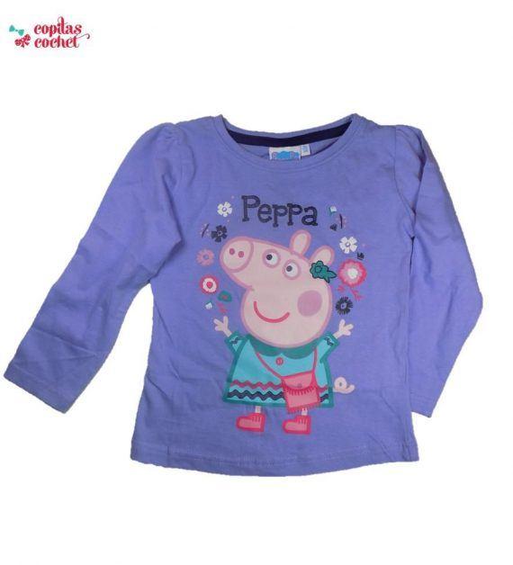 Bluza Peppa Pig (mov) 1