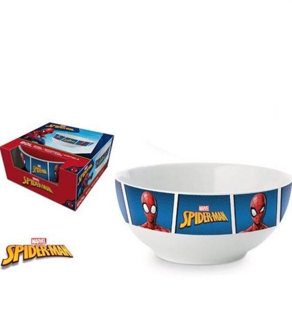 Bol cereale Spiderman (albastru) 1
