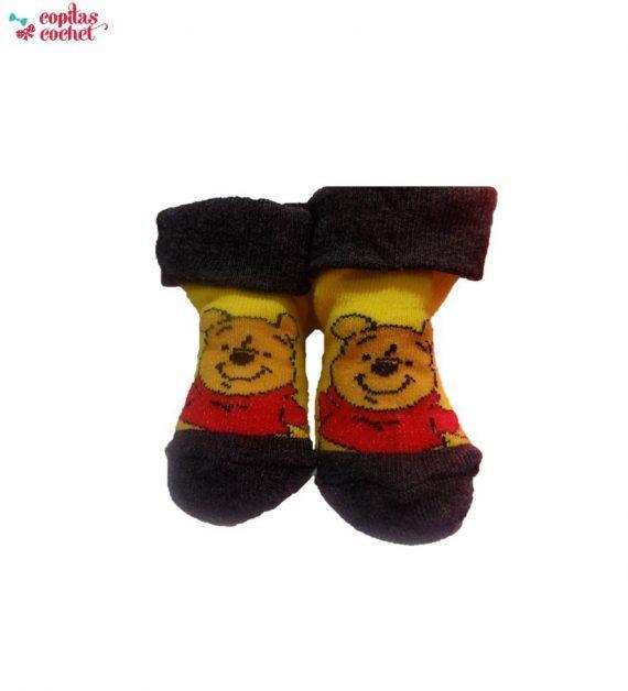 Sosete bebe Winnie the Pooh (galben) 1