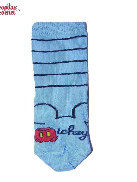 Sosete bebe Mickey Mouse (albastru) 1