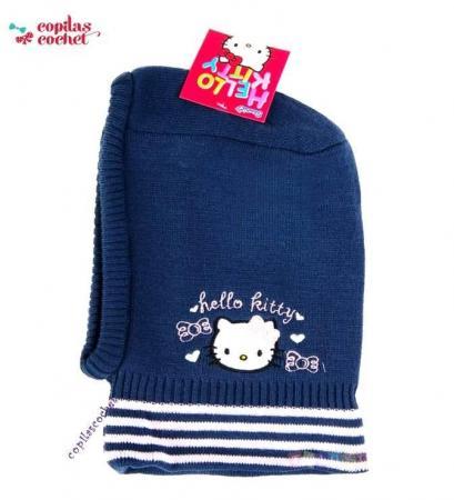 Cagula Hello Kitty (bleumarin)