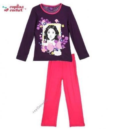 Pijamale Violetta (mov-fucsia)