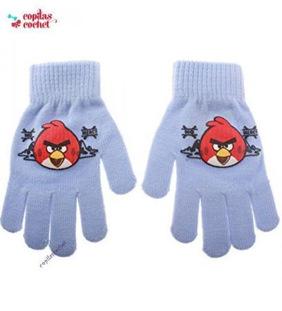 Manusi Angry Birds (bleu)