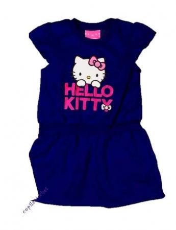 Rochie Hello Kitty (bleumarin)