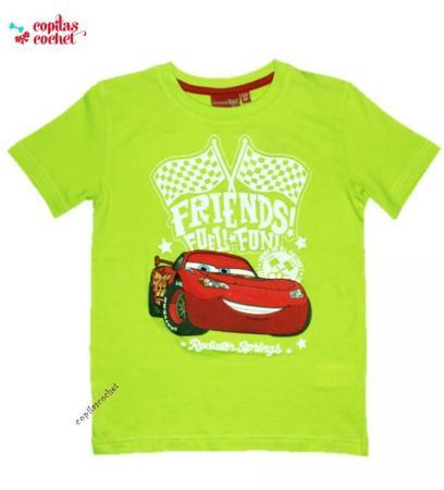 Tricou Fulger McQueen (verde)