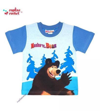 Tricou Masha&Ursul
