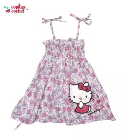 Rochie Hello Kitty (bretele)