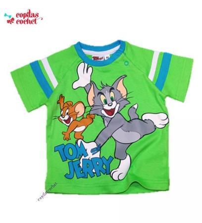 Tricou Tom&Jerry (verde)