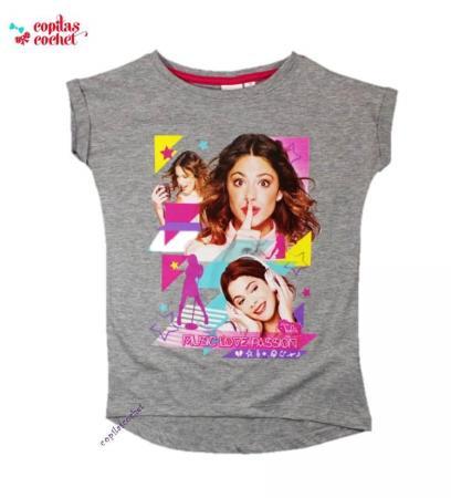 Tricou Violetta (gri)