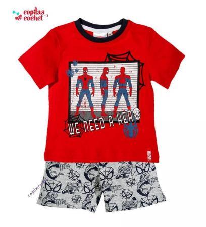 Pijamale de vara Spiderman