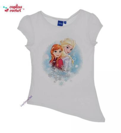 Tricou Frozen (alb)