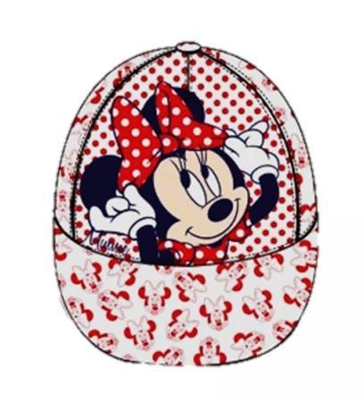 Sapca Minnie Mouse (alb)