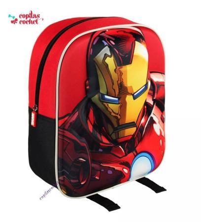 Ghiozdanel 3D Iron Man