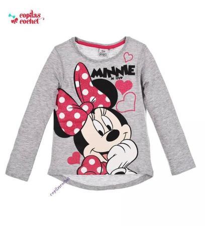 Bluza Minnie Mouse (gri)