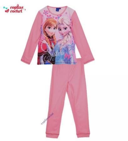 Pijamale Frozen (roz)