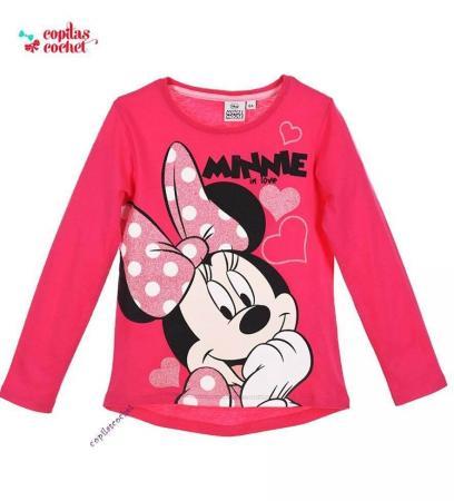 Bluza Minnie Mouse (roz)