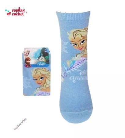 Sosete Elsa(bleu)