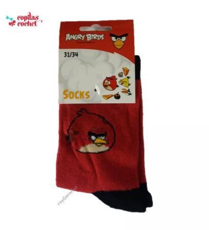 Sosete Angry Birds (rosu)