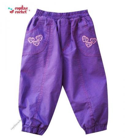 Pantaloni mov bebe(sezon rece)