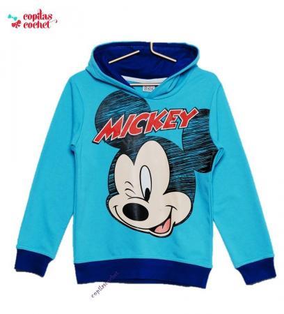 Hanorac Mickey Mouse (albastru)