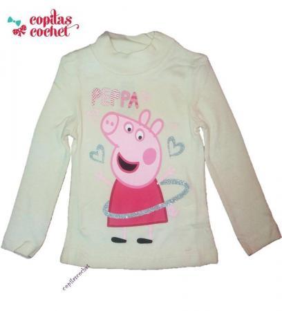 Bluza Peppa Pig (alb)