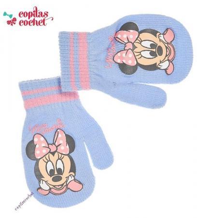 Manusi bebe Minnie Mouse (bleu)