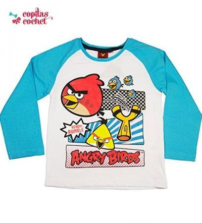 Bluza Angry Birds (alb)