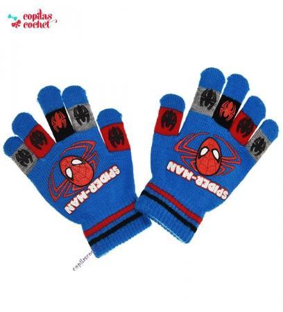 Manusi Spiderman (albastru)
