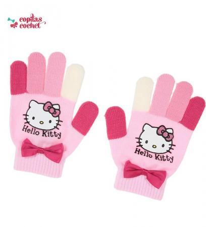 Manusi Hello Kitty (roz)