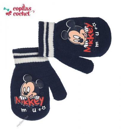 Manusi bebe Mickey Mouse (bleumarin)