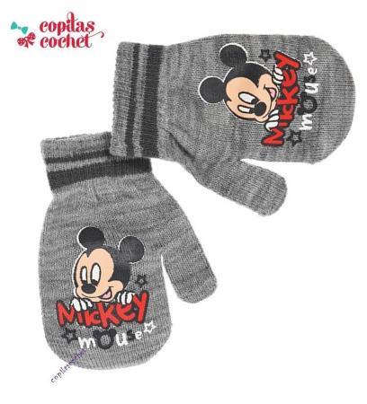 Manusi bebe Mickey Mouse (gri)