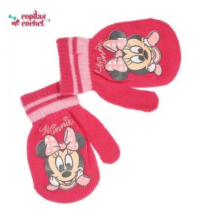 Manusi bebe Minnie Mouse (fucsia)