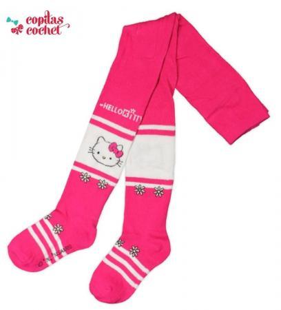 Dresuri Hello Kitty (alb-fucsia)