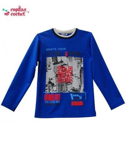 Bluza copii QR code
