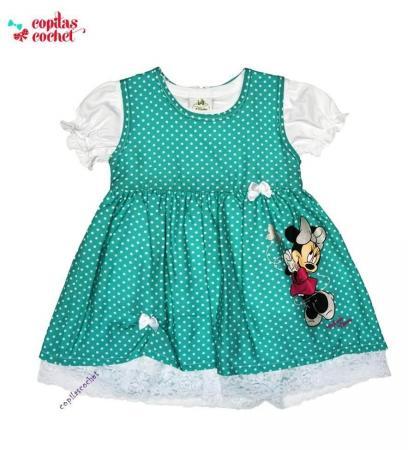 Rochie bluza bebe Minnie Mouse