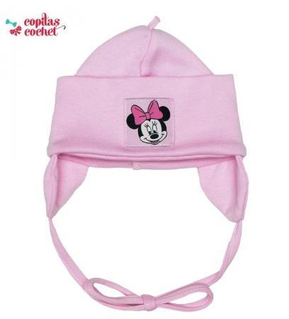 Caciulita bebe Minnie Mouse (roz)