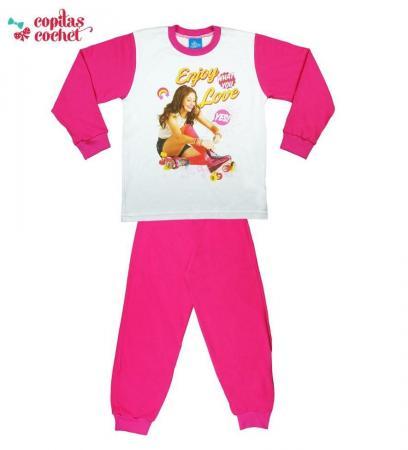 Pijamale Soy Luna (fucsia)
