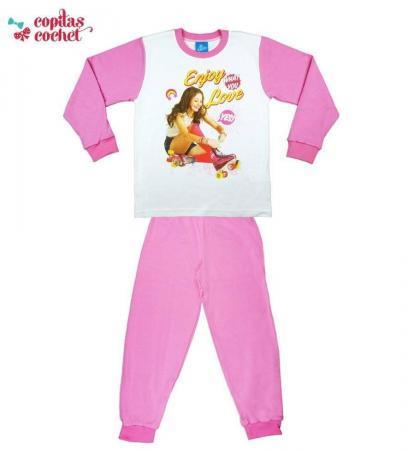 Pijamale Soy Luna (roz)