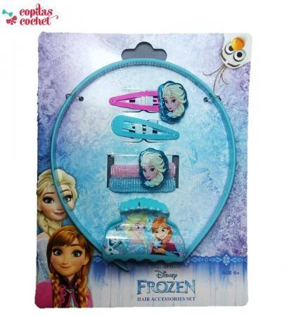 Set accesorii de par Frozen (6 piese)