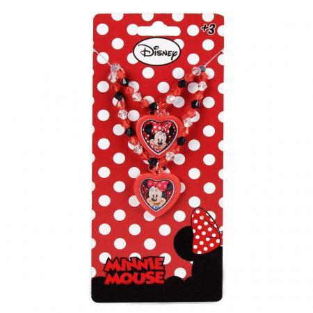 Set colier bratara Minnie Mouse